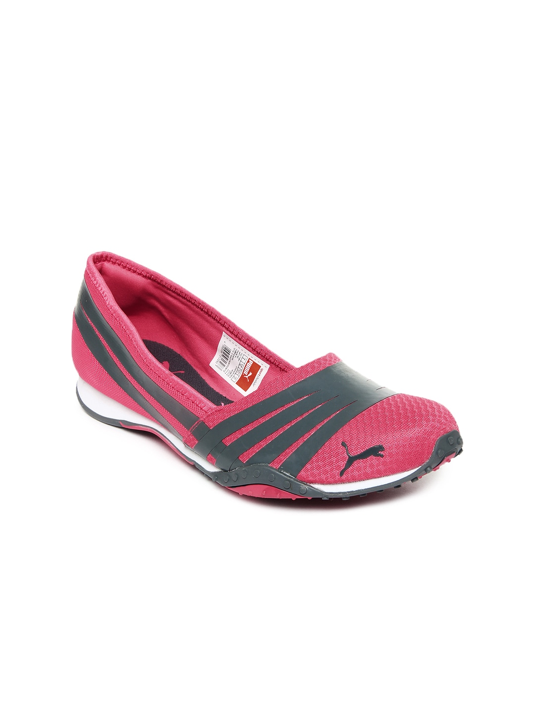 bca8639862e Puma 18705502 Women Pink And Grey Asha Alt 2 Flat Shoes- Price in India