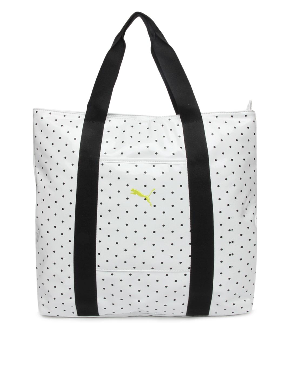 Puma 7235901 Women White Spirit Shopper Tote Bag - Best Price in ... d8572ddd4ffd2