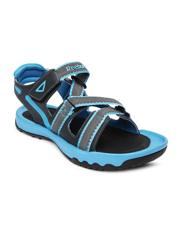 21b31109f92d Reebok m40294 Men Black Blue Trail Safari Sports Sandals- Price in India