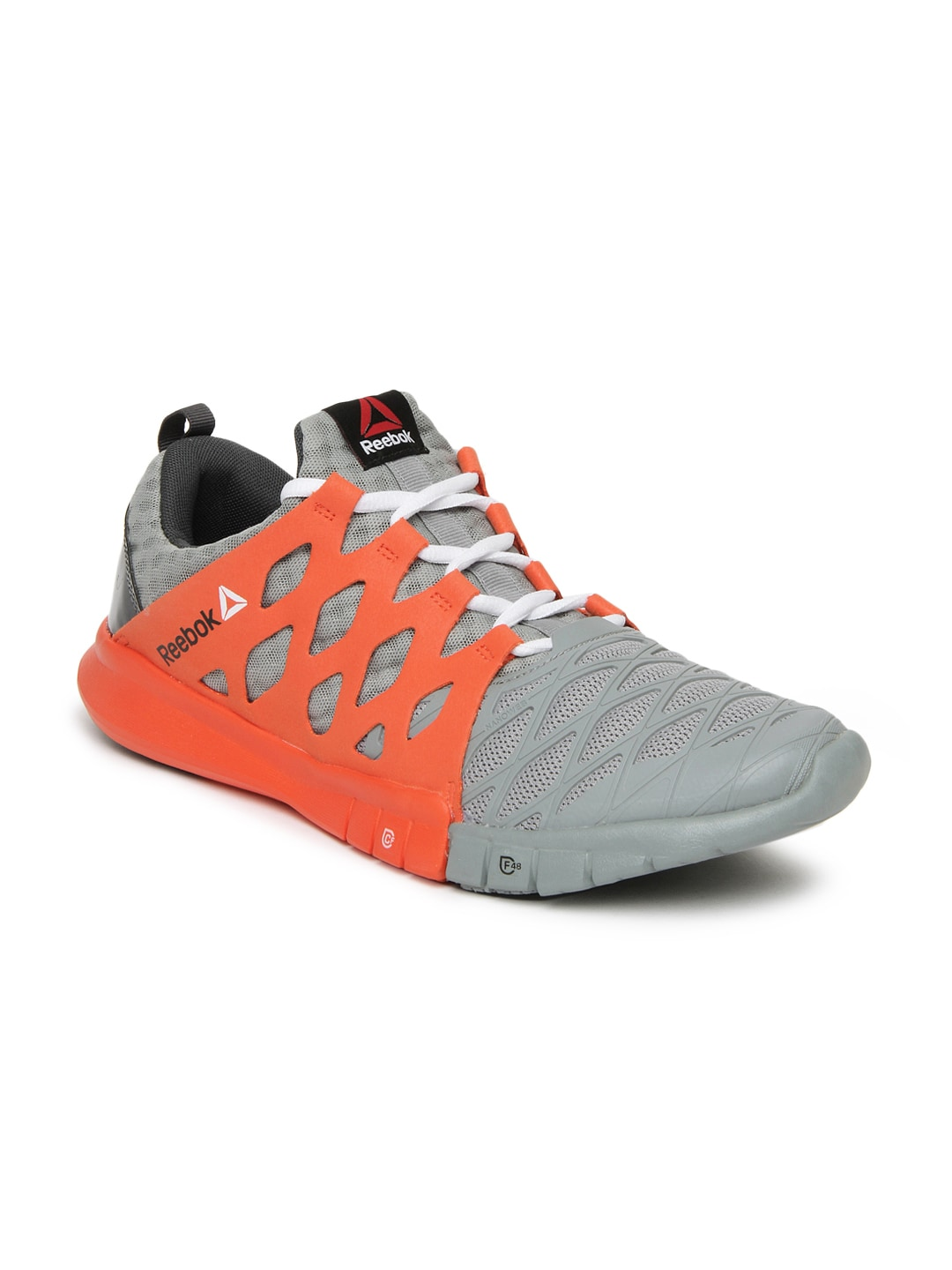 Reebok m40561 Men Grey Orange Zrx Tr Training Shoes - Best Price ... 22a4998c8