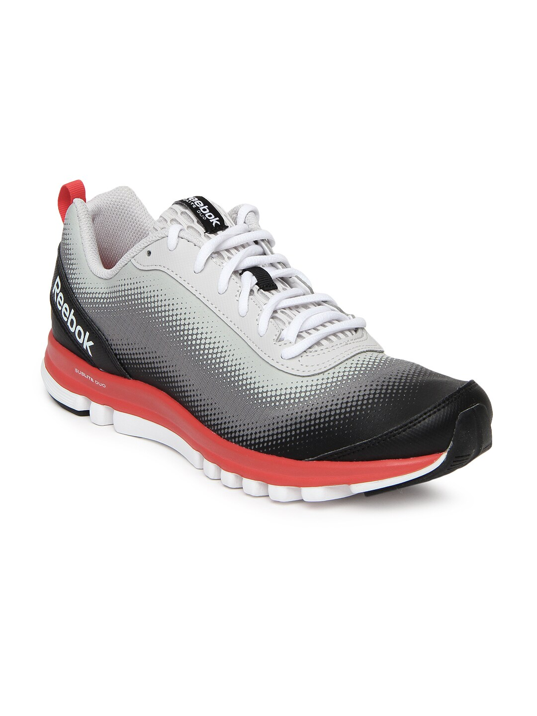 a5724e537bc Reebok m40811 Men Grey Black Sublite Duo Running Shoes- Price in India
