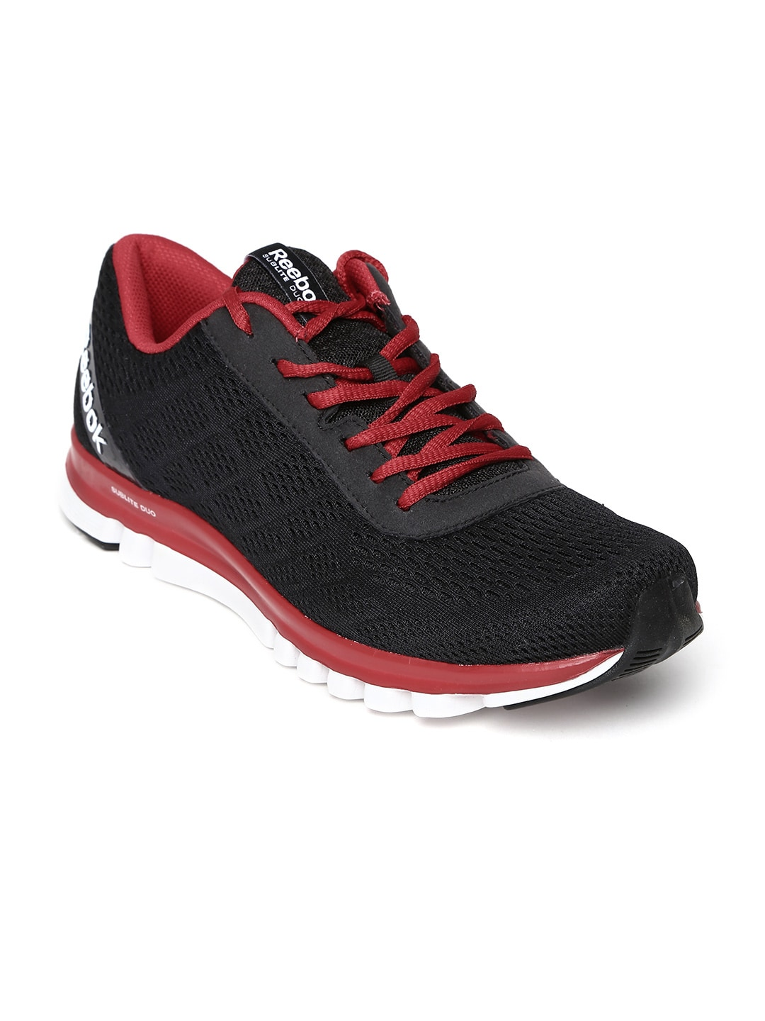 Reebok m43927 Men Black Sublite Duo Smooth Running Shoes- Price in India 7469fd768