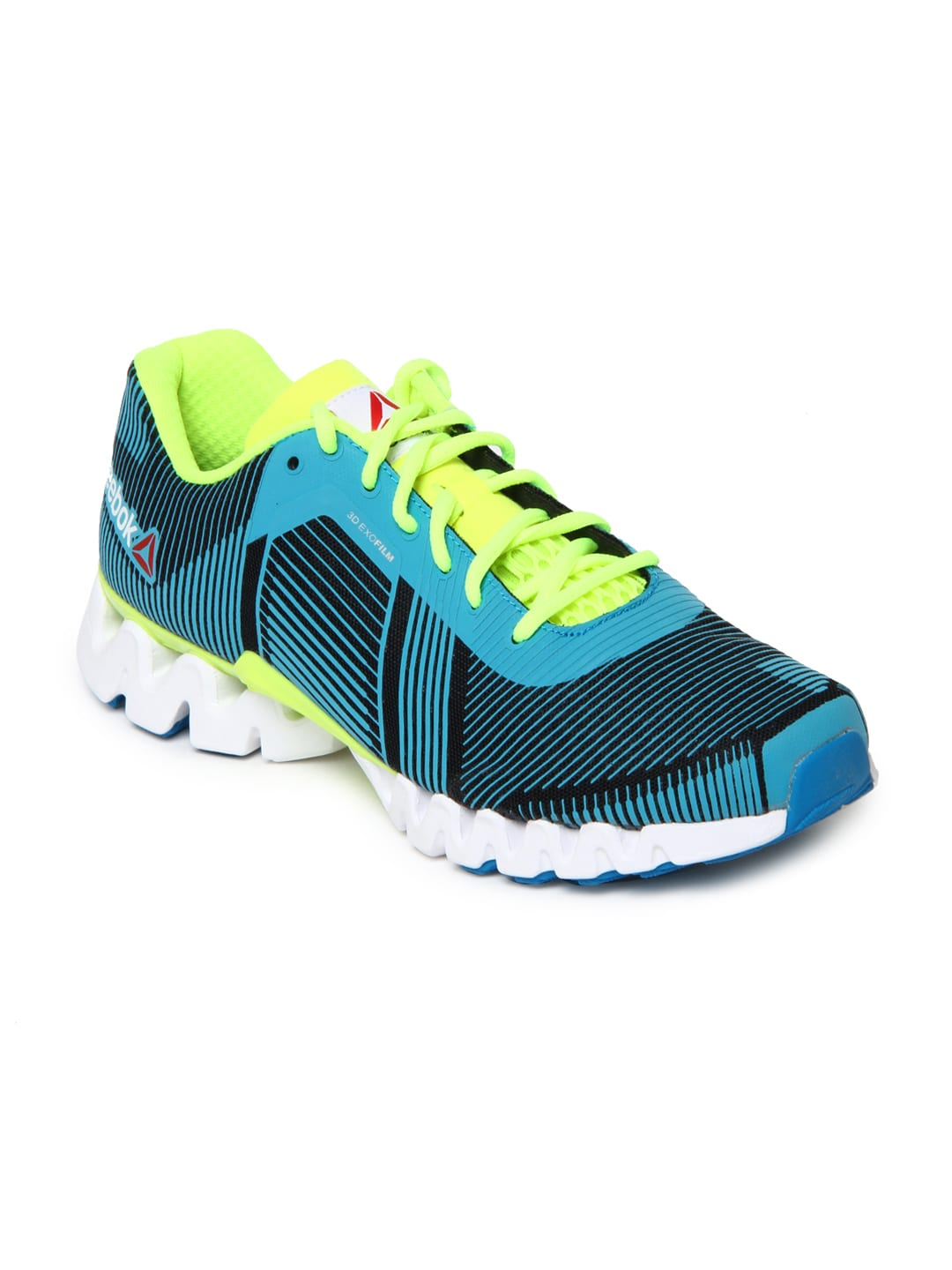 info for 3e1ce 7b188 Reebok v60485 Men Teal Blue And Black Zigtech 3 0 Energy Sports Shoes-  Price in India