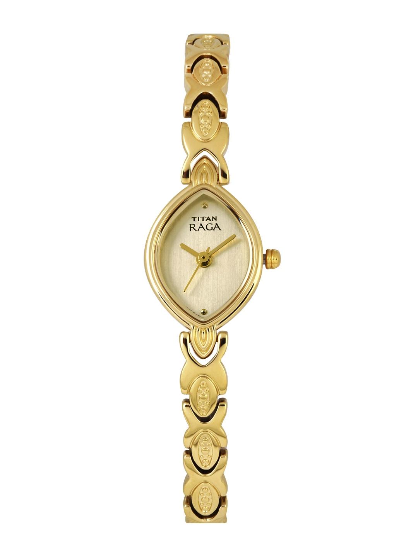 Titan Raga Women Gold-Toned Dial Watch 2250YM25