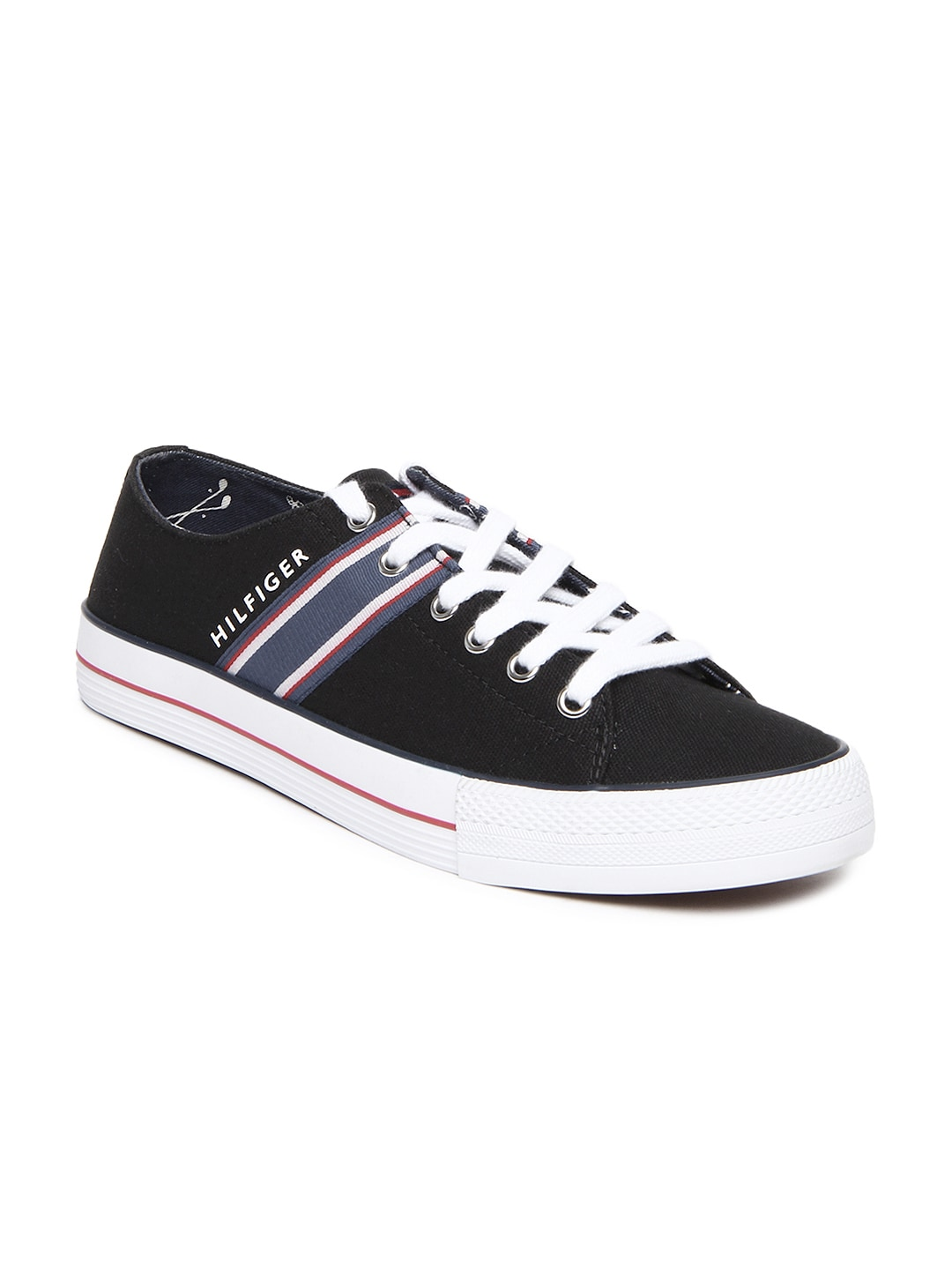 ecbfdaba0c2dc Tommy hilfiger a2btf005 Men Black Casual Shoes - Best Price in India ...