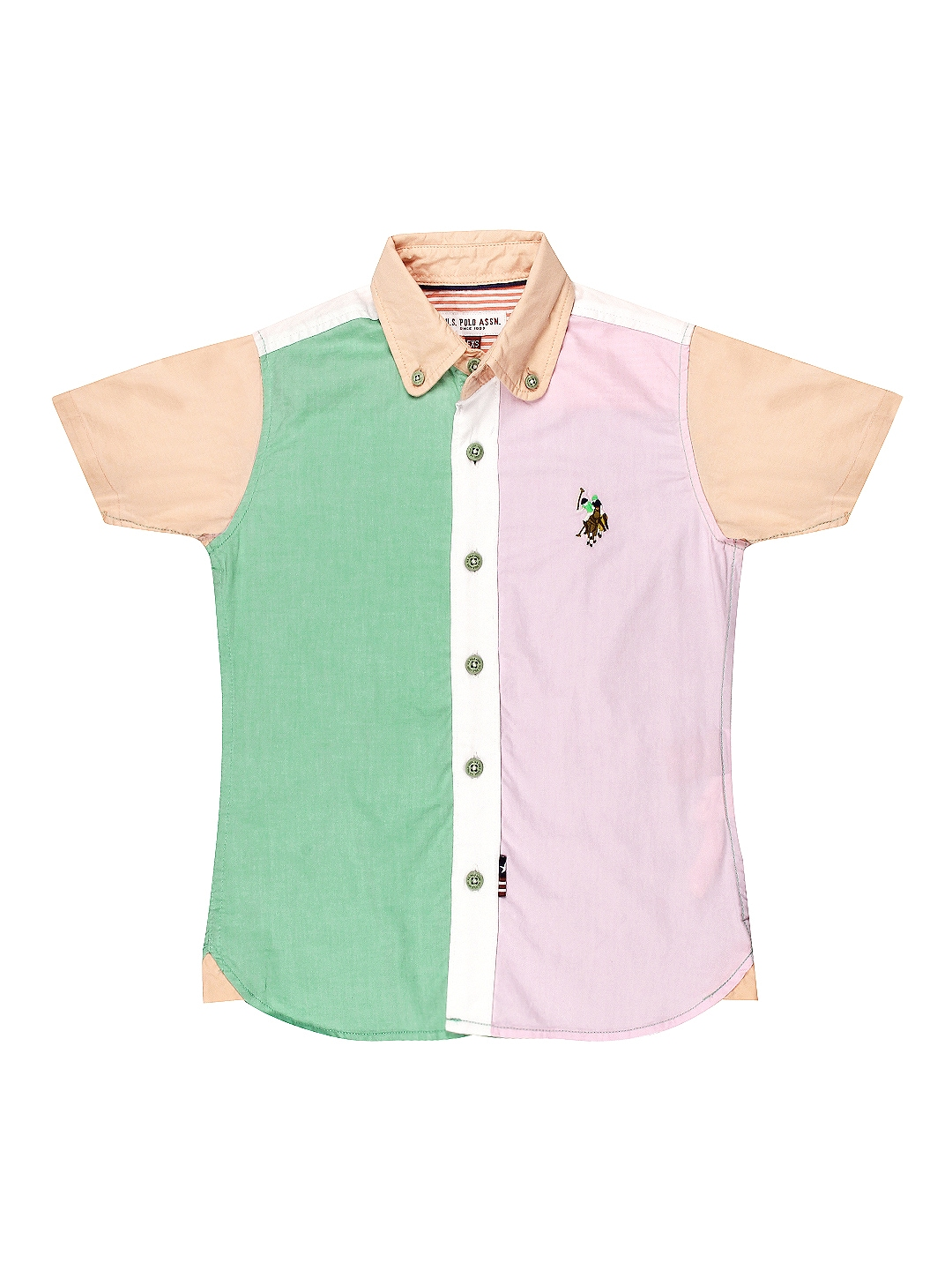 53871a2bd5e Us polo assn ujsh5434 Kids Boys Multi Coloured Shirt - Best Price in ...