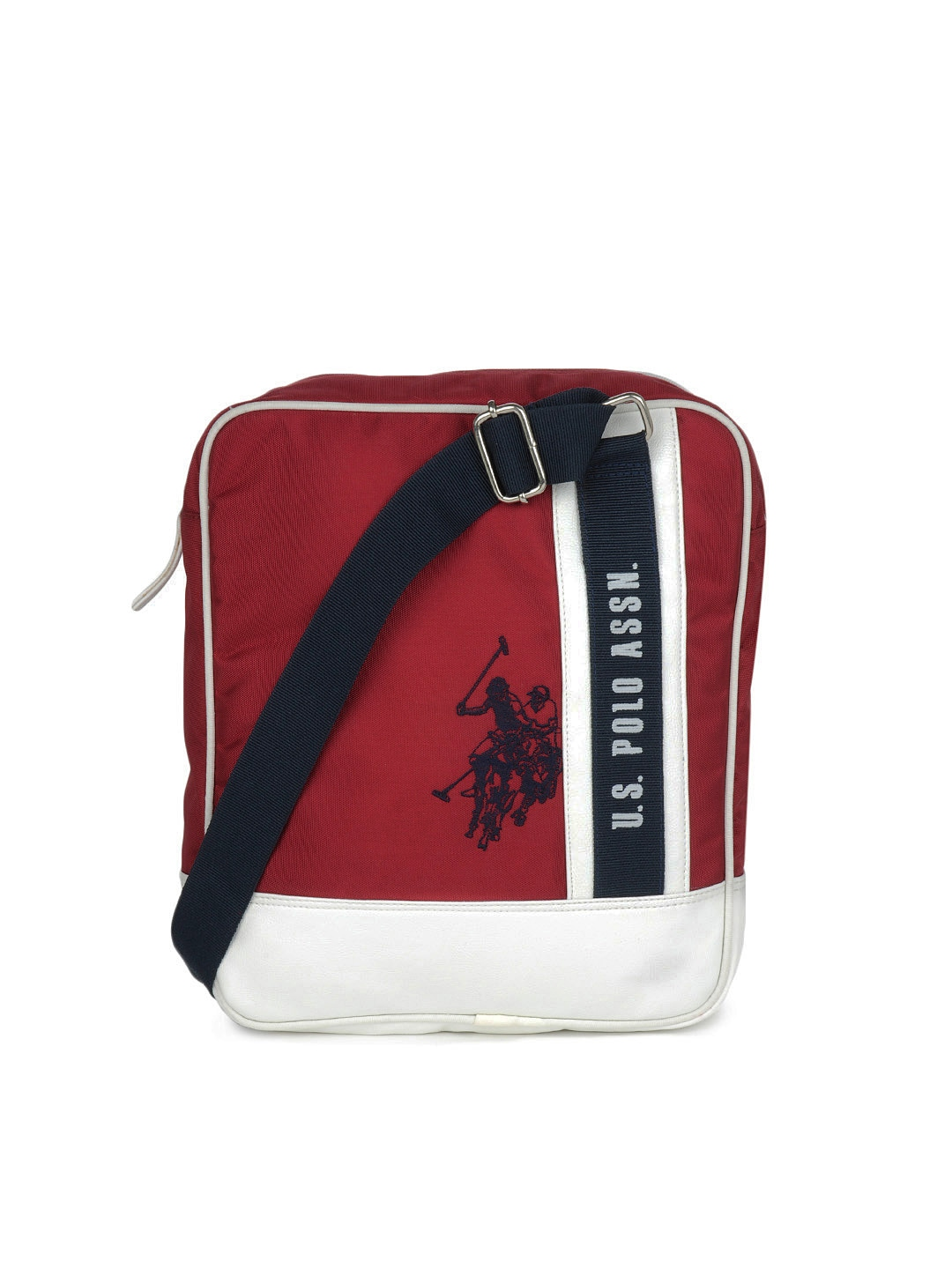 Us polo assn usmb0001 U S Polo Assn Men Red Sling Bag- Price in India f9f08b2250