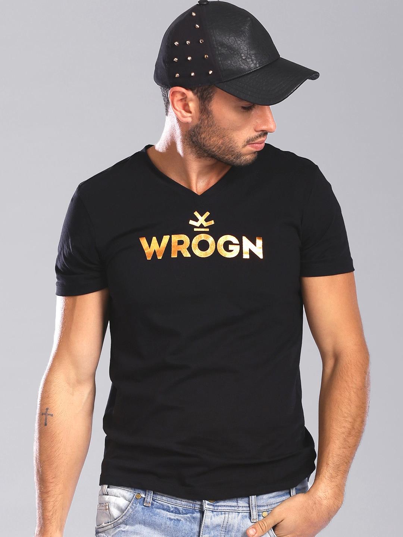 Design your t shirt myntra - Wrogn Men White Limited Edition By Virat Kohli T Shirt