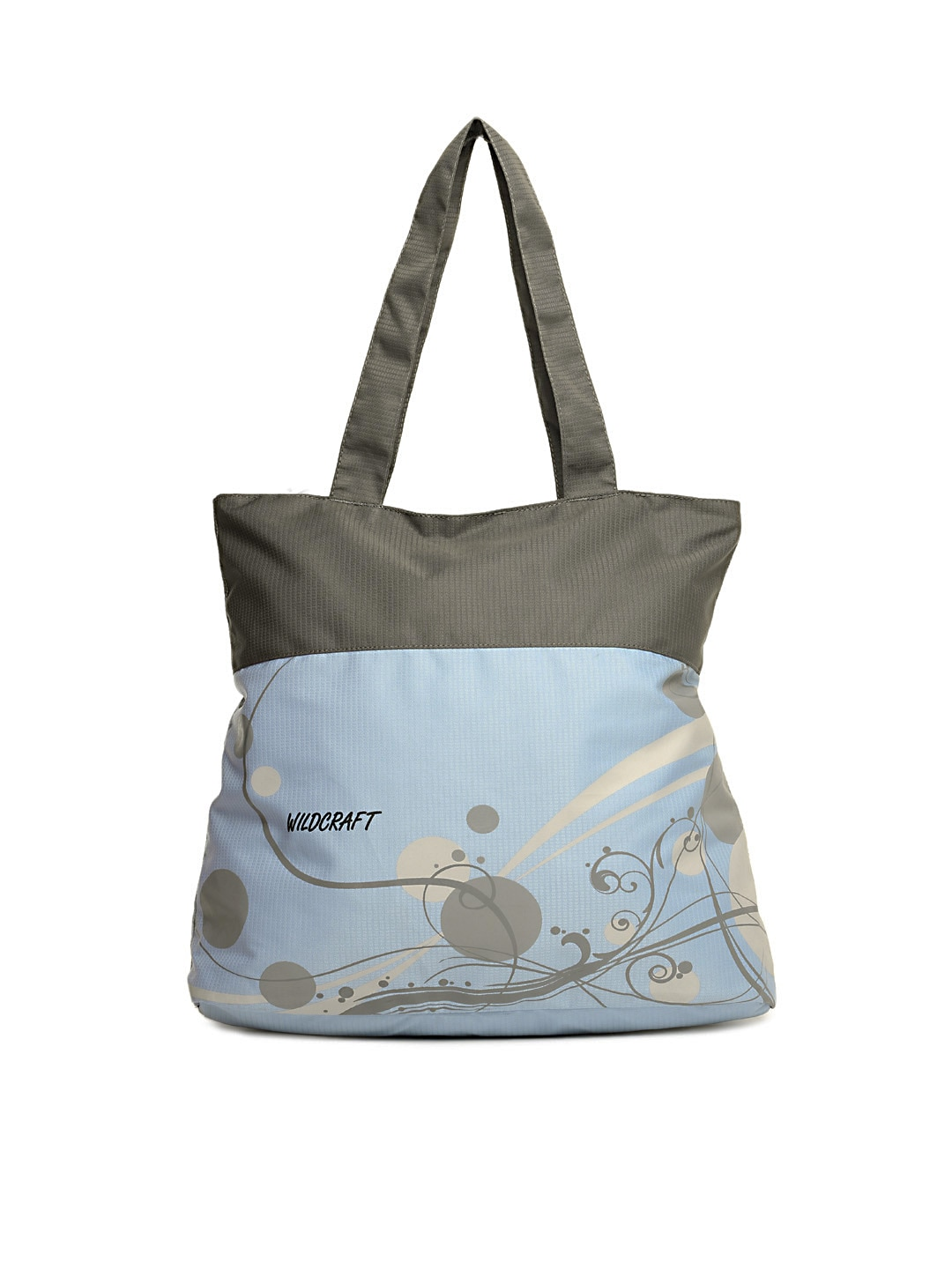 Wildcraft 8903338210108 Women Blue And Grey Tote Bag Price In India