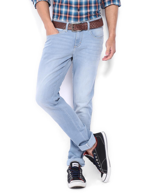 e67af627 Wrangler wrjn4872 Men Light Blue Vegas Skinny Fit Jeans- Price in India