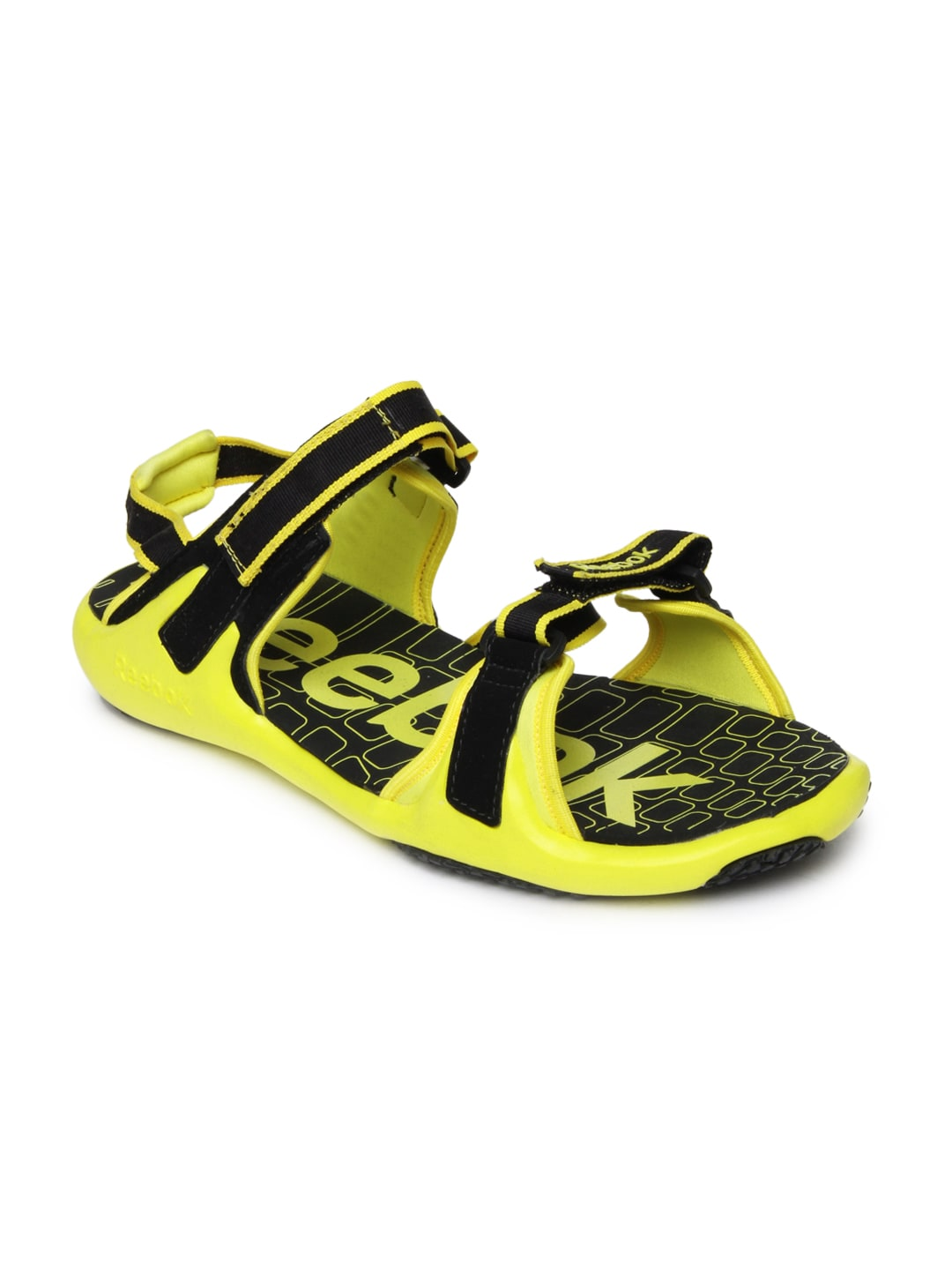 706a8062dcd118 Reebok m40325 Men Black And Yellow Adventure Grail Sports Sandals- Price in  India
