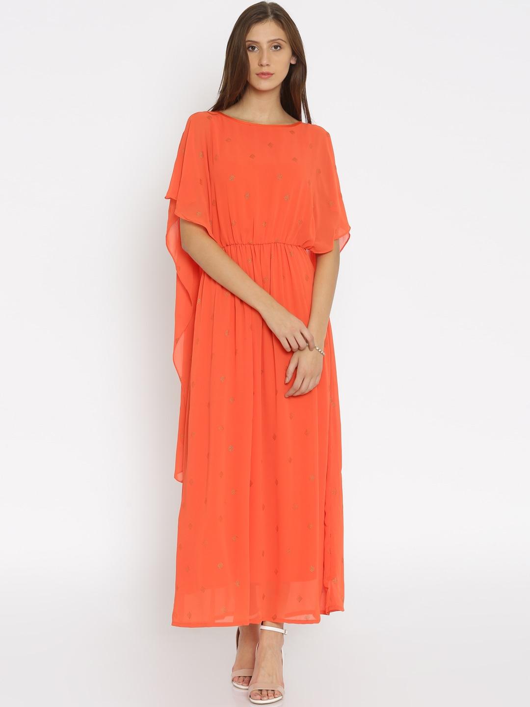 Kaftan maxi dress online india