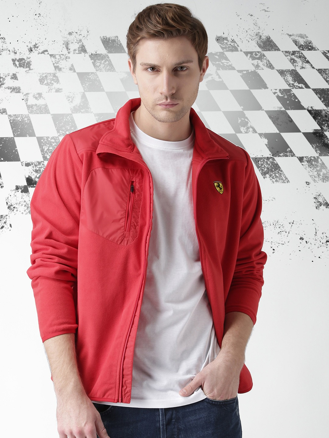 men red ferrari track scuderia mens owner choice gear product s puma index by shop jacket