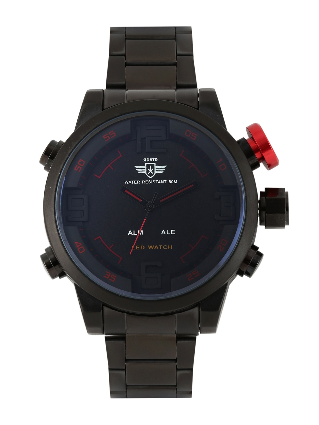 digital watches buy digital watches online in at best price rdstr men charcoal grey analogue digital watch mfb pn wth1608 a