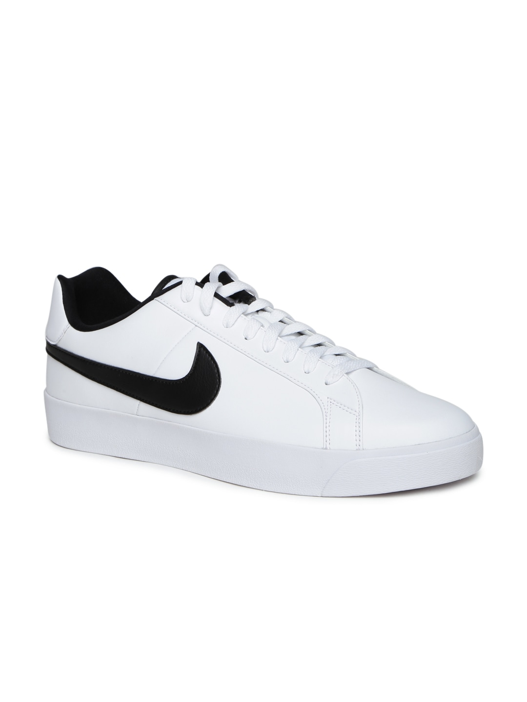nike white sneakers leather