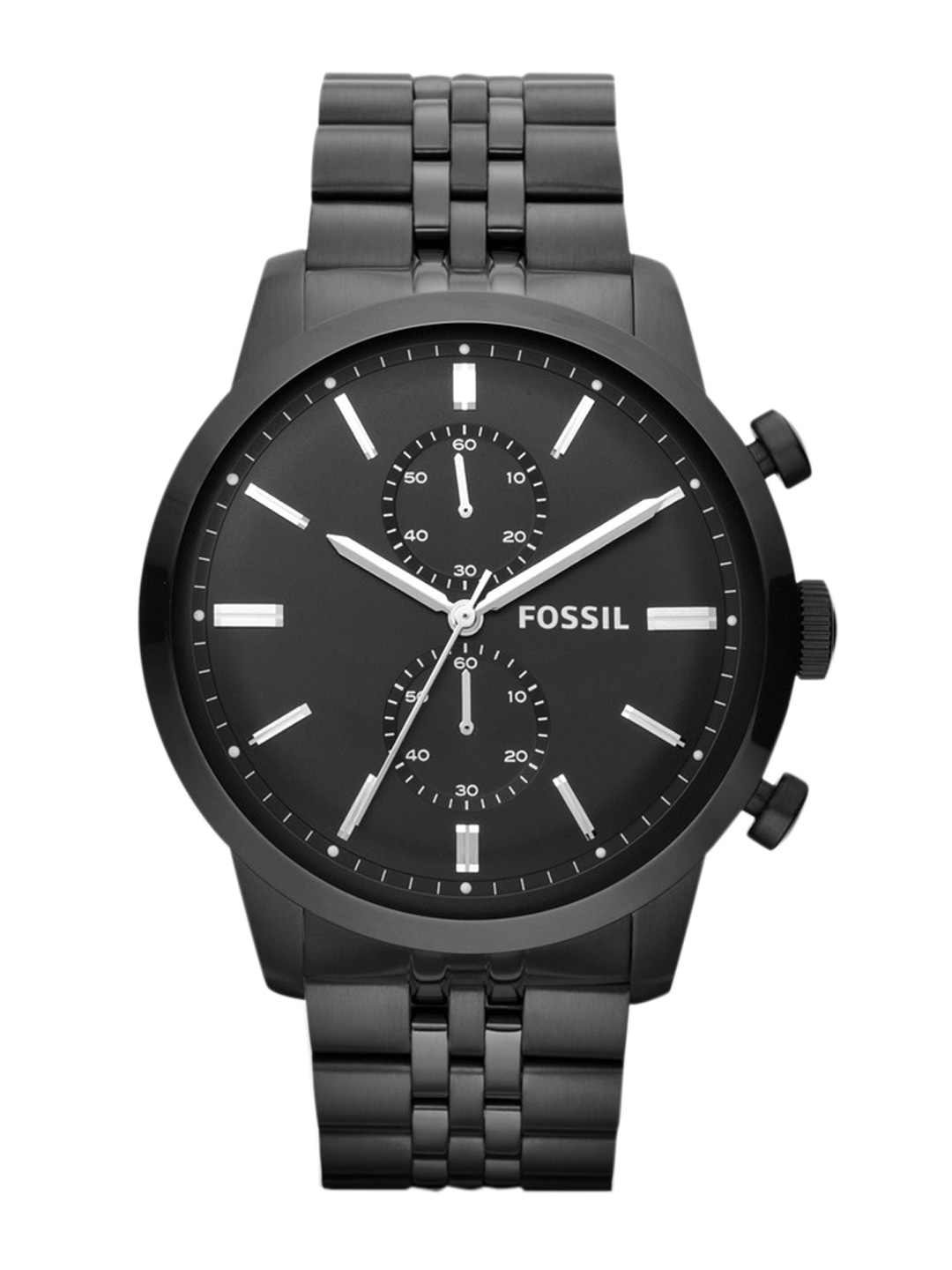 black watches buy black watches online in at best price fossil men black chronograph watch fs4787i