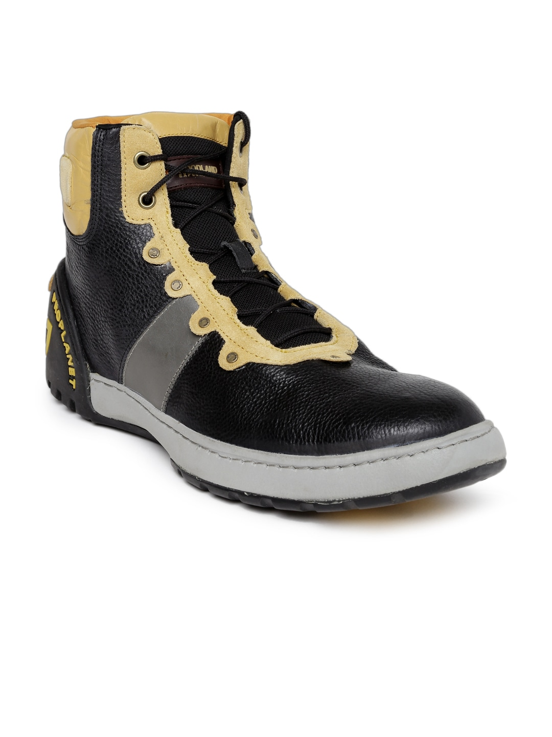 To acquire Shoes Woodland black with price picture trends