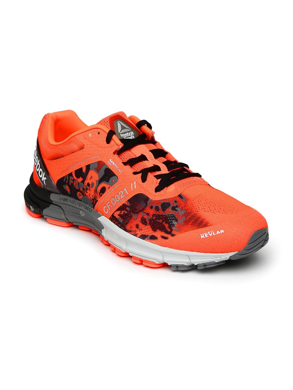 reebok running shoes orange