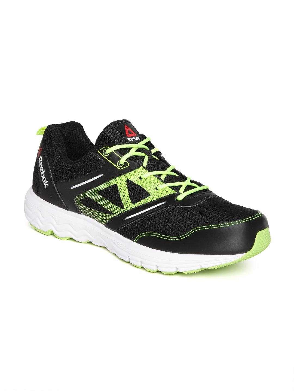 ae5d23fd621 Reebok men black fuel race running shoes