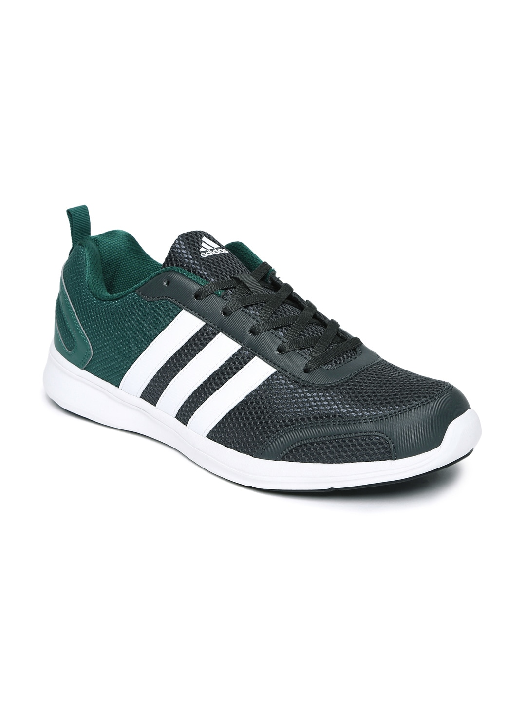 bb3c2e356 Adidas Men Charcoal Grey   Green Astrolite M Running Shoes price in India