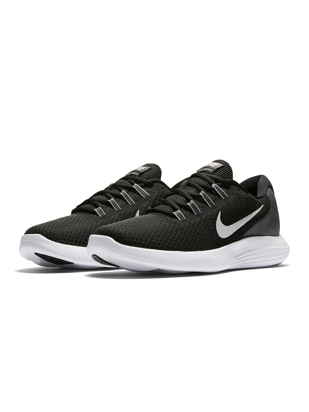 Nike Men Black Lunar Converge Running Shoes price in India