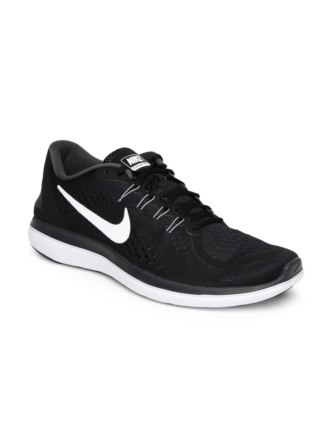 Nike Men Black Flex 2017 Running Shoes price in India