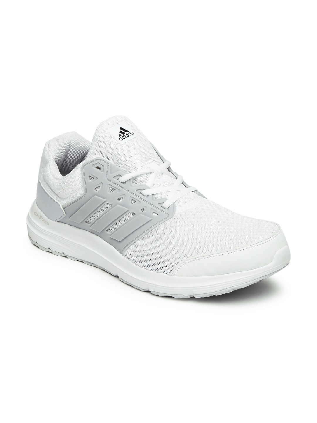 ... sports shoes bbcf9 a5c36 Adidas Men White GALAXY 3 M Running Shoes  price in India ... 99ae14914