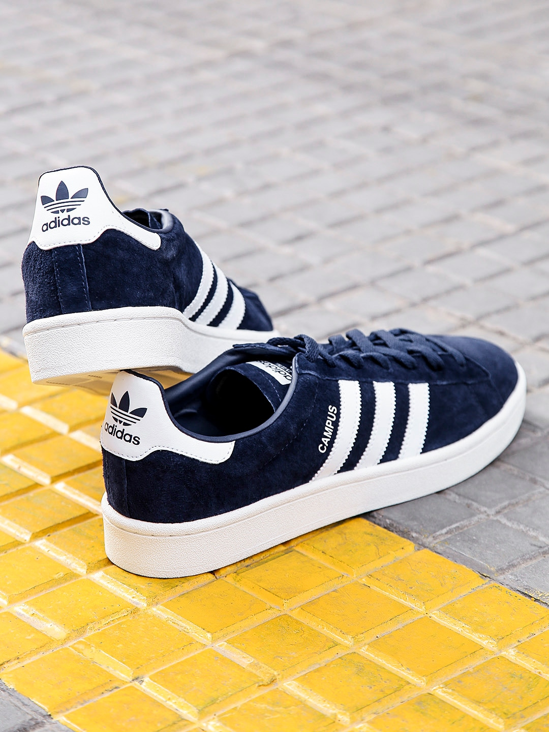 low priced c3ed8 24655 Adidas Originals men campus leather sneakers08 January 2019 BuyBesto.com