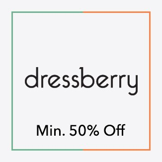 Dressberry minimum 505 off