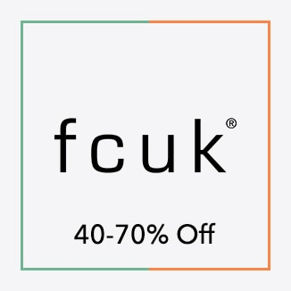 FCUK 40 to 70% off