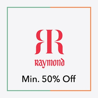 Raymond minimum 50% off