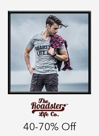 Roadster 40%-70% off