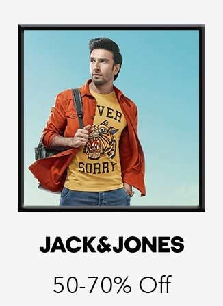 Jack & Jones 50%-70% off