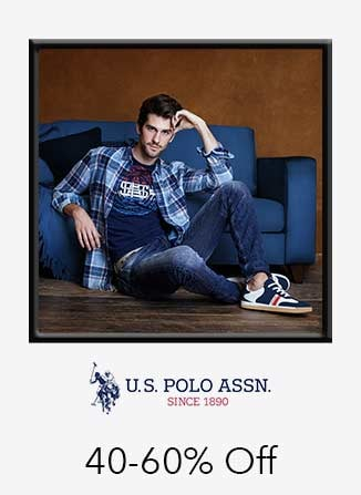 U.S.Polo.Assn 40%-60% off
