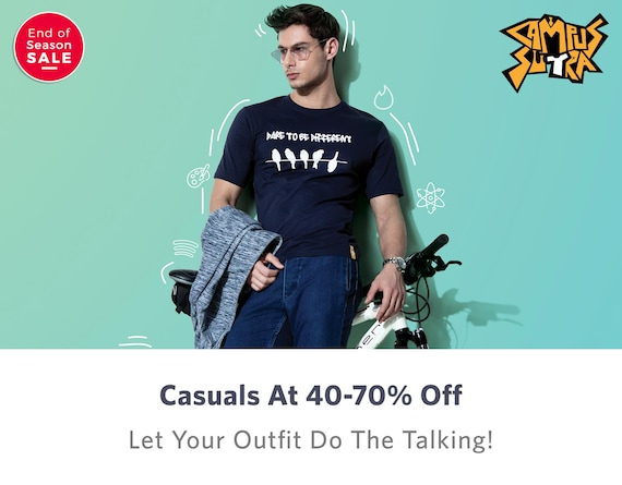 Campus Sutra - Buy Campus Sutra Clothing Online in India