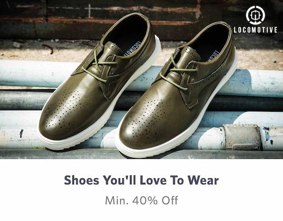 Men Footwear - Buy Mens Footwear & Shoes Online in India - Myntra