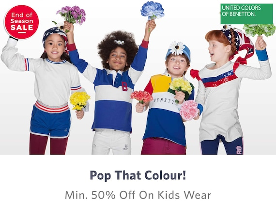 United Colors Of Benetton Kids - Buy United Colors Of Benetton Kids online in India