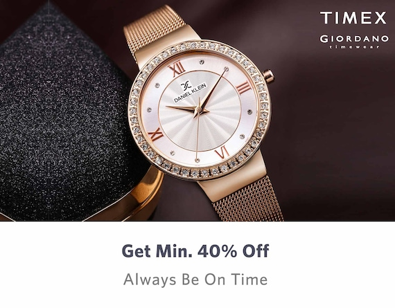 Watches - Buy Wrist Watches for Men & Women Online