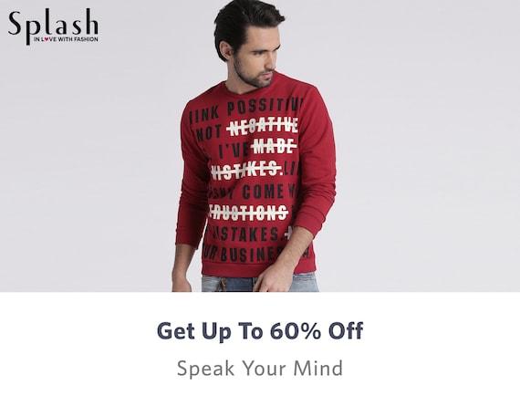 Splash Clothing - Buy from Splash Online Clothing Store