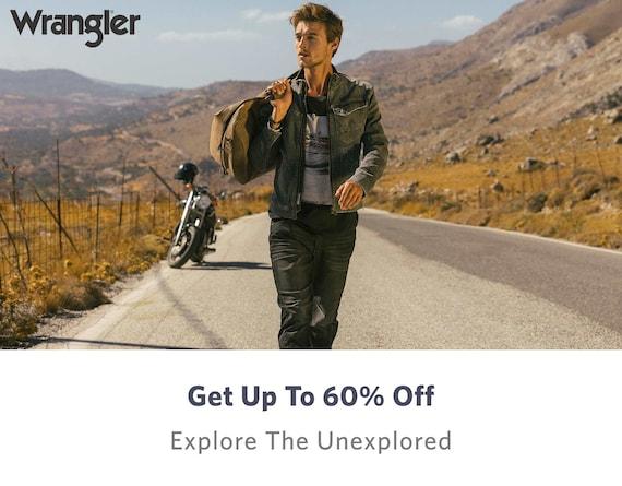 Men Apparel Wrangler - Buy Men Apparel Wrangler online in India