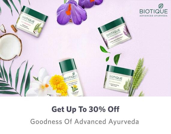 Biotique - Buy Biotique Skincare & Beauty Product Online