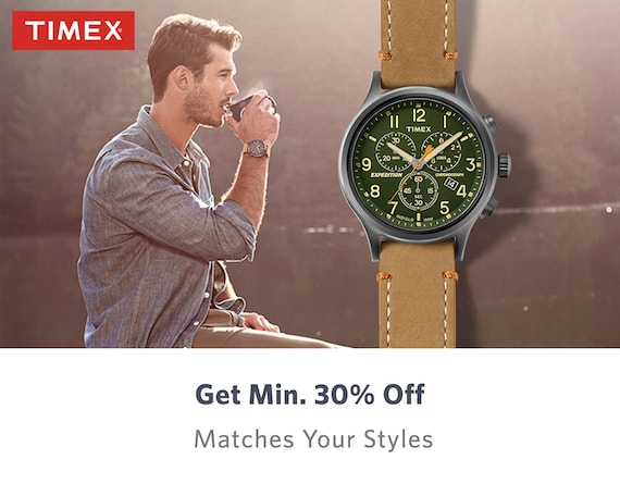 Timex Store - Buy Timex Watches for Men & Women Online