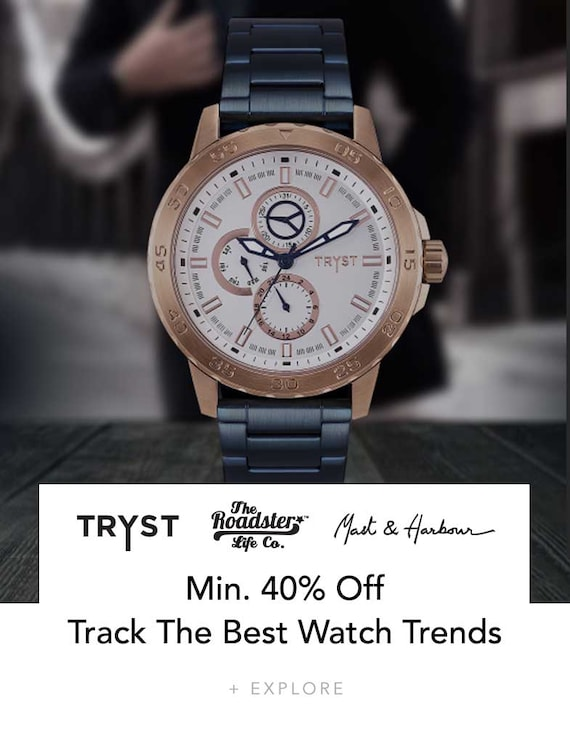 Mens Trust Watches Acc - Buy Mens Trust Watches Acc online in India