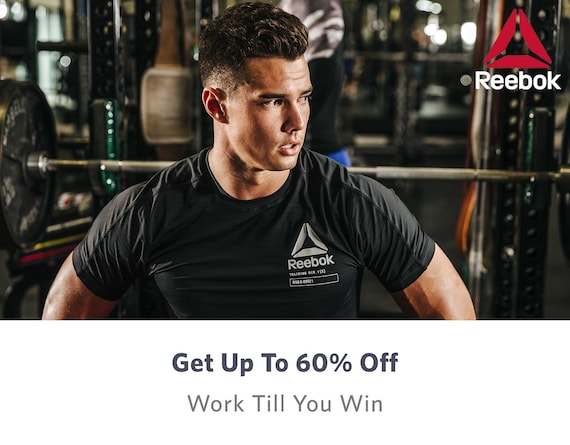 Reebok - Buy Reebok Footwear & Apparel In India