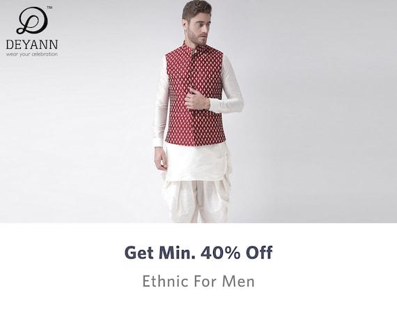 Deyann - Buy Deyann Clothing for Men Online in India