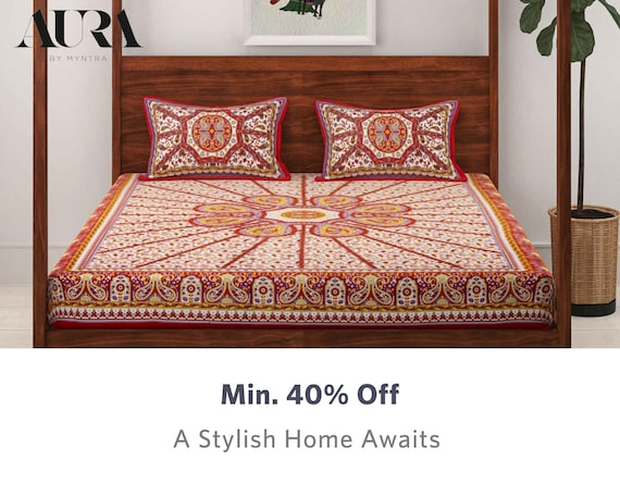 Aura - Buy Aura Home Furnishing Products Online In India
