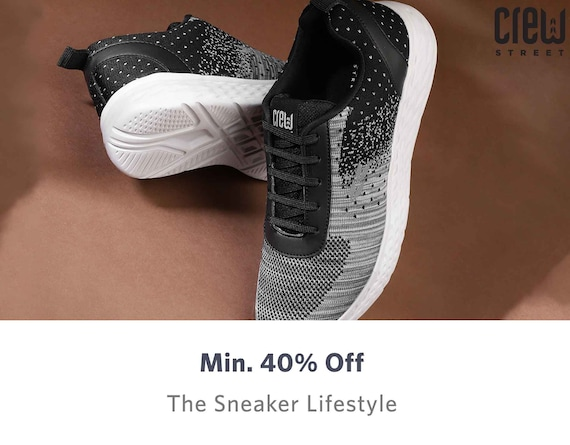 Crew Street Shoes - Buy Crew Street Shoes online in India