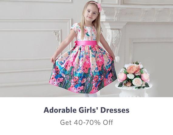 Girls Dresses - Buy Frocks & Gowns for Girls Online