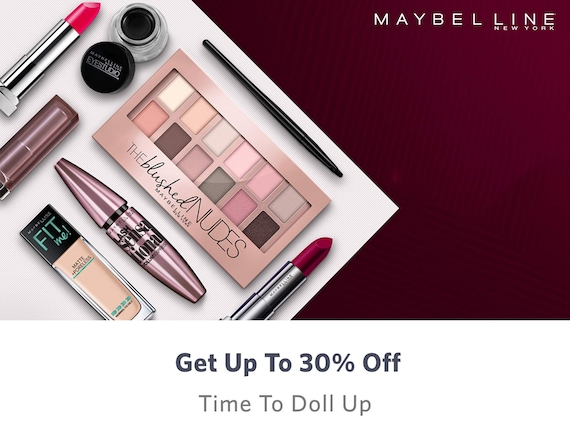 Maybelline Online Store – Shop for Maybelline Products Online in India – Myntra