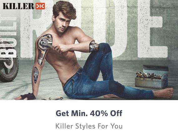 Killer - Shop for Killer Apparels & Accessories Online in India